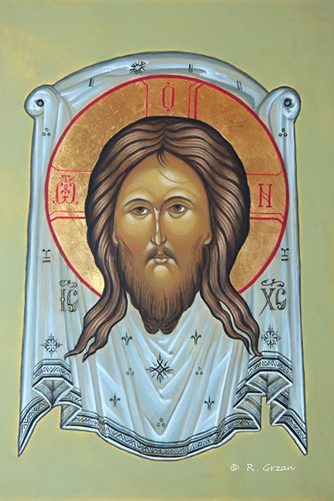 Holy Face of Jesus Icon - Renata Grzan Wieczorek
