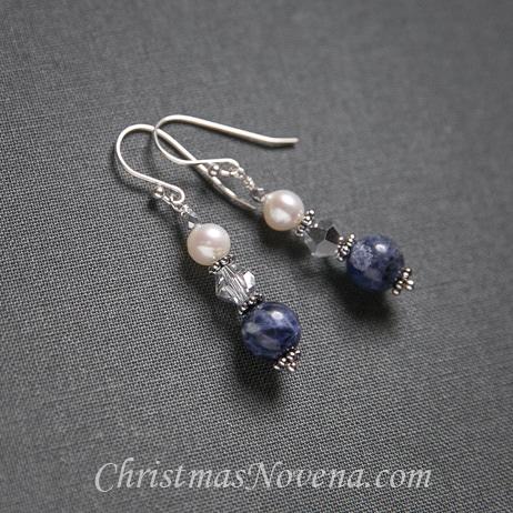 Christmas Earrings Saint Andrew Christmas Novena